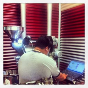 Coffee Roaster, Gabe, Barista and Coffee Roaster